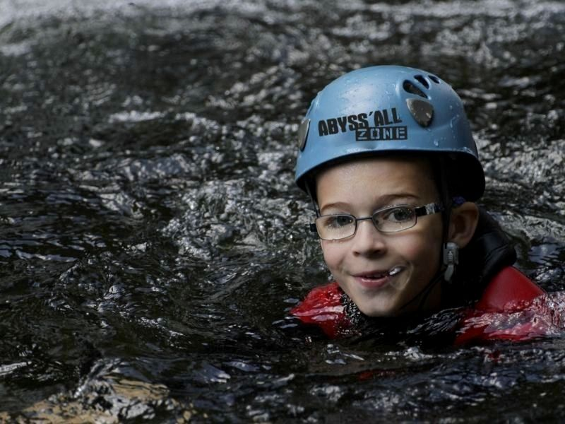 Canyoning en Ardèche - Besorgues