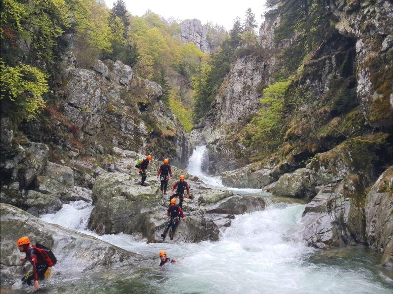 Canyoning en Ardeche - La Haute Borne