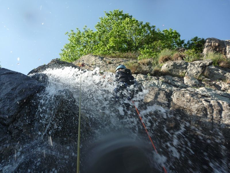 Canyoning en Ardèche - Montfreyt