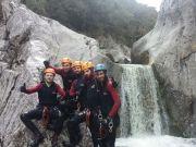 Canyoning en Ardèche - Rieusset