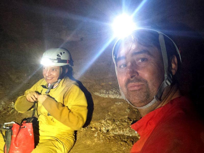 Spéléologie en Ardèche - Grotte de Pezenas