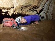 Spéléologie en Ardèche - Grotte de Remène