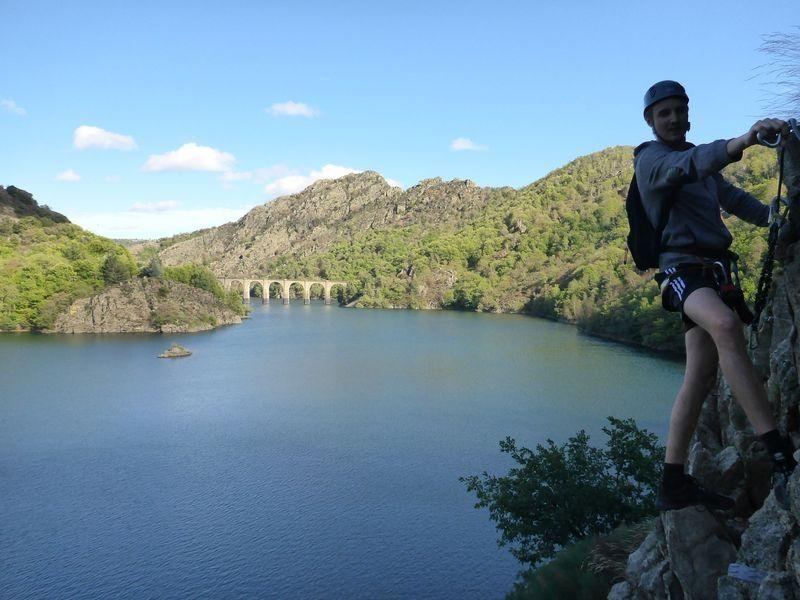 Via ferrata de Lac de Villefort - Lozère
