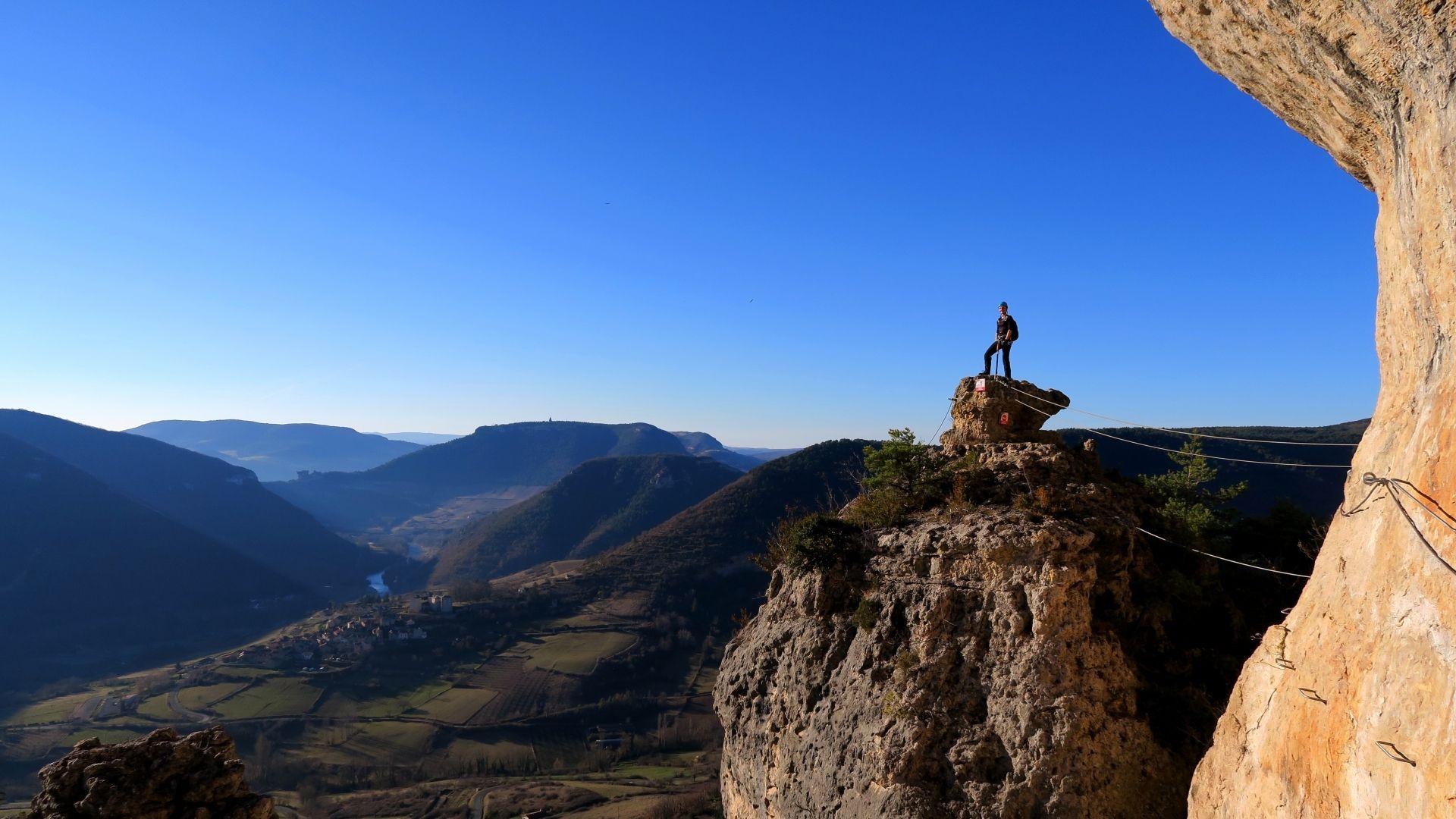 Via ferrata de Liaucous - Aveyron